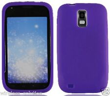 PURPLE Silicone Skin Gel Case for Samsung Galaxy S2 SGH-T989