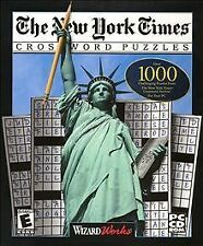New York Times Crossword Puzzles  (PC, 2000)