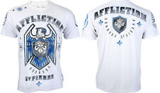 AFFLICTION Men T-Shirt ROYAL GUARD Georges St Pierre Fighter MMA UFC S-3XL $58 b
