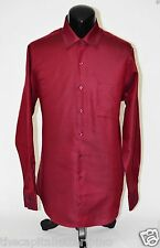 $45 Van Heusen Mens Fitted Pique Dress Shirt Wrinkle Free New 15.5 x 34/35