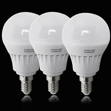 3/12X High Power 5W E14 LED SMD Globe Bulbs Day Warm White Spotlights Lamp