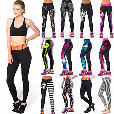 Women's Sports Yoga Gym Workout Compression Pants Stretchy Briefs Tight Leggings