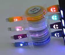 Light Up LED Micro USB Data Sync Charger Cable For  iPhone 5 5s 5c iPhone 6