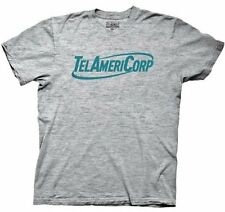 Adult Men's Workaholics Comedy TV Show TelAmeriCorp Heather Gray T-shirt Tee