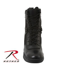 5053 Rothco Forced Entry 20.3cm Tactical Boot With Side Zipper - Black
