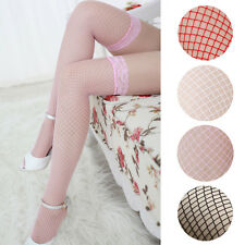 Fashion Sexy Woman Ladies Thigh High Stockings Lingerie Lace Top Thigh net Socks