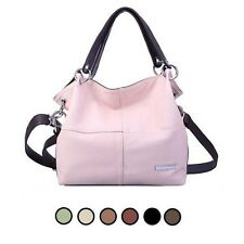 Ladies Tote Shoulder Bag Messenger Cross Body Satchel Hobo Handbag Faux Leather
