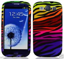COLOR ZEBRA Snap-On Case Hard Cover for Samsung Galaxy S3 SIII