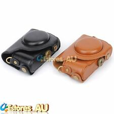 2 Colors Camera PU Leather Protector Cover Case Bag Pouch For Casio ZR1000