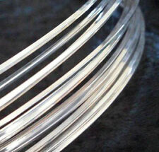 1Ft Sterling Silver-Filled ROUND Dead Soft Jewelry Wire 10 12 14 16 18 Gauge GA