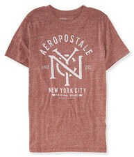 aeropostale mens nyc intertwined logo graphic t shirt
