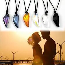 2015 New Fashion Charm Crystal Wolf Tooth Shape Necklace Jewelry Chain Pendant