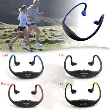 Cordless Earphones Headphones Sports MP3 Music FM Player for Gym Running Jogging