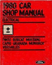 1980 Ford PINTO ELECTRICAL Repair Service Shop Manual DEALERSHIP NICE BOOK 80