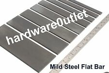 Flat Bar Mild Steel 6.0mm 20,25,30,40,50,60,75,100mm available in 8 lengths