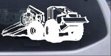 Log Skidder Car or Truck Window Laptop Decal Sticker