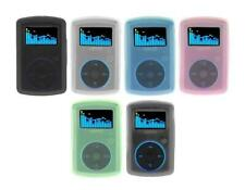 for Sandisk Sansa Clip MP3 Player (SDMX11R) Soft Silicone Rubber Skin Cover Case