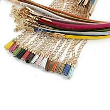 New Women Lady Girl Candy Color  Skinny Waist Belt Thin Leather Narrow Waistband