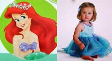 *New* Disney Deluxe Infant Costume-Princess Ariel-Sizes 6-12 Month & 12-18 Month