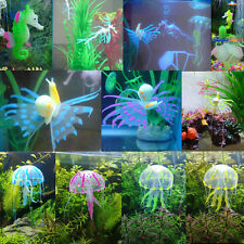 Silicone Aquarium Fish Tank Decor Artificial Ornament Underwater Decoration Pick