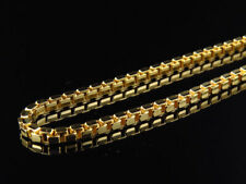 Solid Genuine 10K Yellow Gold Box Style 2.5MM Chain Necklace 24-30 Ins