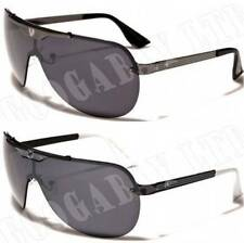 Khan New Mens Retro Sunglasses Designer Fashion UV400 Black Aviator K10