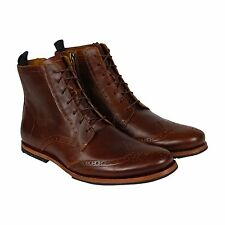 Timberland Boot Company Wodehouse Wing Boot Mens Brown Leather Boots Shoes