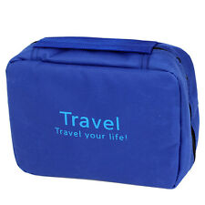 Business Trip Travel Toiletry Toiletries Cosmetic Beauty Hanging Wash Bag