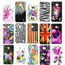 Flower Phone Back Protective Hard Plastic Shell Case Cover For Nokia Lumia 630