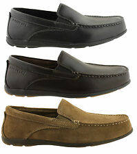ROCKPORT CAPE NOBLE 2 MENS COMFORTABLE LEATHER DRIVING MOCCASSINS/LOAFERS/SHOES