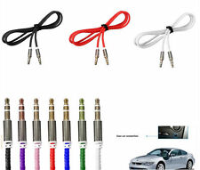 3.5mm Jack Male to Male Car Aux Cord Stereo Audio Cable for Phone/iPod/MP4/MP3