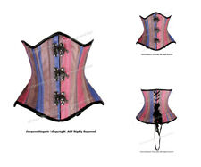 Double Steel Boned Waist Training Faux Leather Underbust Corset #HC8499-MC(FL)