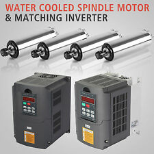 VARIABLE FREQUENCY DRIVE INVERTER VFD AND WATER AIR COOLED SPINDLE MOTOR