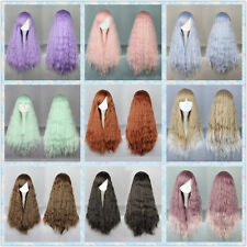 28 inches Vogue Long Loose Curly Carnival Cosplay Variety Color Party Lolita Wig