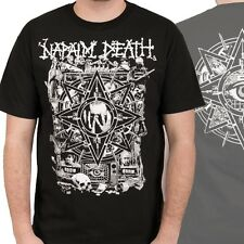 NAPALM DEATH - Hope - T SHIRT S-M-L-XL-2XL Brand New - Official T Shirt