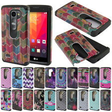 For LG Leon C40 H320 H340 H326 L22C LS665 TPU Hybrid Heavy Duty Hard Case Cover