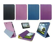 Folio Cover Case and Screen Protector for ASUS Eee Pad Transformer Prime TF201