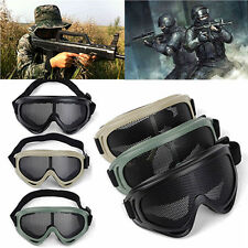 NEW Hunting Airsoft Tactical Eyes Protection Metal Mesh Pinhole Glasses Goggle