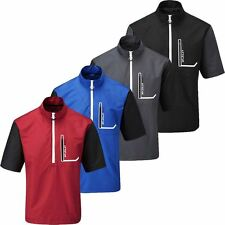 2016 Stuburt Cyclone Water Repellent Short Sleeve Mens Golf Windshirt