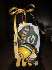 NFL  NFC - GREEN BAY PACKERS BEACH CHAIR CAKE TOPPER/CHRISTMAS/ANYTIME ORNAMENT