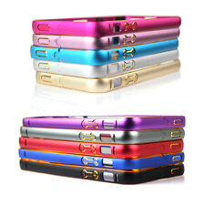 Protect Ultra-Thin Dounle Colors Aluminium Metal Frame Case For Iphone 5 5S SE