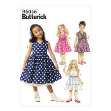 Butterick See & Sew Childrens/Girls Sewing Pattern 6046 Shrug & Dress