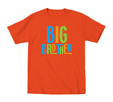 Big Brother Colorful Bold Print Bro Funny Family Sibling Novelty Toddler T-shirt