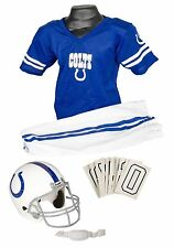 NFL Indianapolis Colts Football Deluxe Uniform & Helmet Jersey Child Costume Set