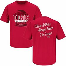 NC State Wolfpack Fan Funny Anti-UNC Athlete No Class Scandal T-Shirt - Red