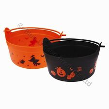 Large Halloween Spooky Witches Cauldron Trick Or Treat Fancy Dress Party