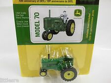 NEW JOHN DEERE 1/64TH SCALE MODEL 70 TRACTOR 70TH ANNIVERSARY EDITION NEW IN BOX