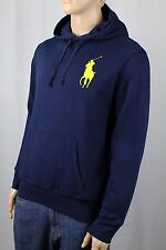 Polo Ralph Lauren Navy Blue Big Pony Hoodie Sweatshirt NWT $165