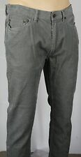 Ralph Lauren Straight 650 Grey Corduroy Jeans Leather Tag NWT