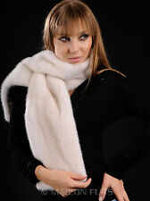 Pearl (natural) Mink Fur Scarf